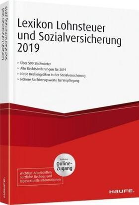 Lexikon Lohnsteuer und Sozialversicherung 2019 plus Onlinezugang