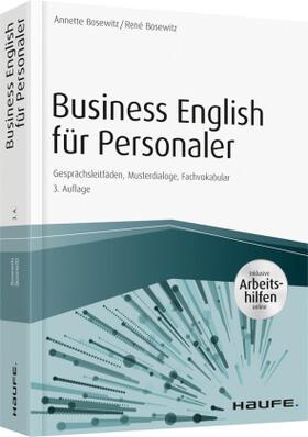 Business English für Personaler - inkl. Arbeitshilfen online portal