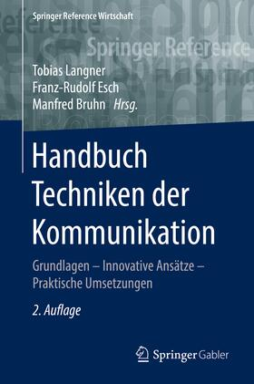 Langner / Esch / Bruhn | Handbuch Techniken der Kommunikation | Buch