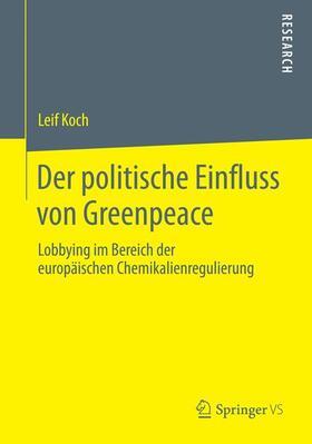 Der politische Einfluss von Greenpeace