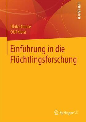 Krause / Hruschka | Einführung in die Flüchtlingsforschung | Buch