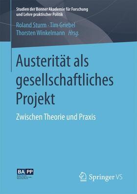 Austerität als gesellschaftliches Projekt