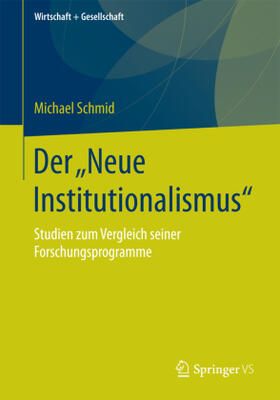 "Der ""Neue Institutionalismus"""