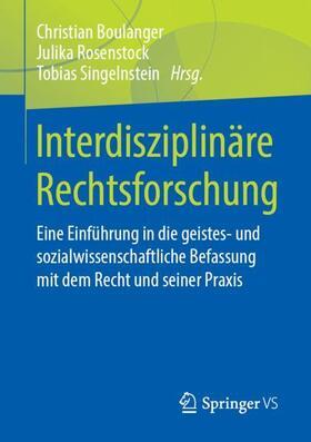 Interdisziplinäre Rechtsforschung