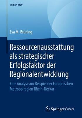 Ressourcenausstattung als strategischer Erfolgsfaktor der Regionalentwicklung