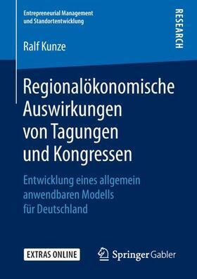 Regionalökonomische Auswirkungen von Tagungen und Kongressen