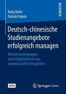 Deutsch-chinesische Studienangebote erfolgreich managen