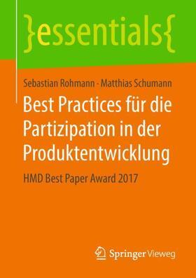 Best Practices für die Partizipation in der Produktentwicklung
