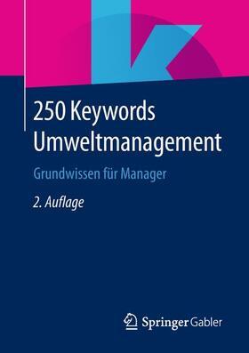 250 Keywords Umweltmanagement