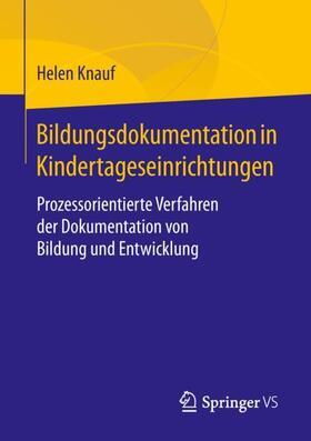 Bildungsdokumentation in Kindertageseinrichtungen
