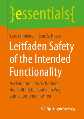 Leitfaden Safety of the Intended Functionality