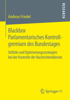 Blackbox Parlamentarisches Kontrollgremium des Bundestages