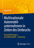 Multinationale Automobilunternehmen in Zeiten des Umbruchs