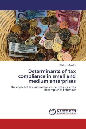 Maseko | Determinants of tax compliance in small and medium enterprises | Buch