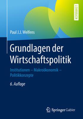 Grundlagen der Wirtschaftspolitik