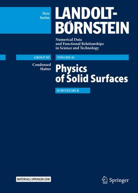 Physics of Solid Surfaces