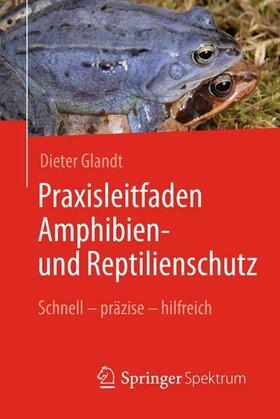 Praxisleitfaden Amphibien- und Reptilienschutz