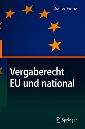 Vergaberecht EU und national