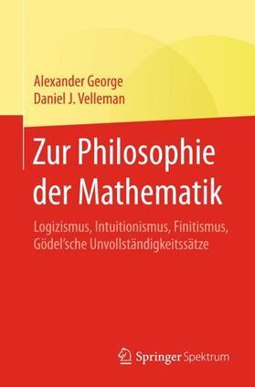 Zur Philosophie der Mathematik