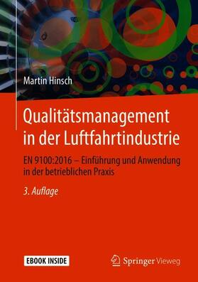 Hinsch | Qualitätsmanagement in der Luftfahrtindustrie | Buch