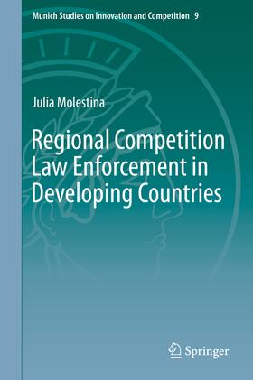 Molestina | Regional Competition Law Enforcement in Developing Countries | Buch