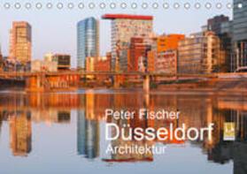 Düsseldorf - Architektur (Tischkalender 2020 DIN A5 quer)