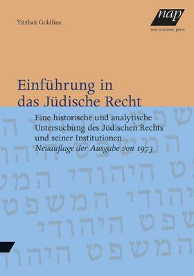Einführung in das Jüdische Recht