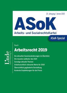 ASoK-Spezial Arbeitsrecht 2019