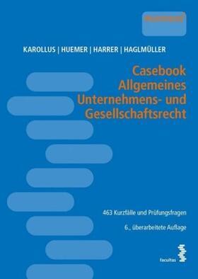 Casebook Allgemeines Unternehmens- und Gesellschaftsrecht