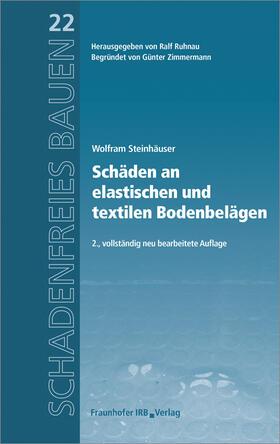 Schäden an elastischen und textilen Bodenbelägen.