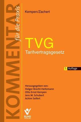 Brecht-Heitzmann/Kempen/Schubert | TVG - Tarifvertragsgesetz | Buch