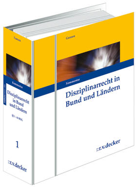 Gansen | Disziplinarrecht in Bund und Ländern | Loseblattwerk