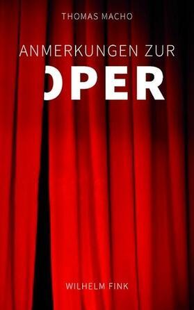 Anmerkungen zur Oper