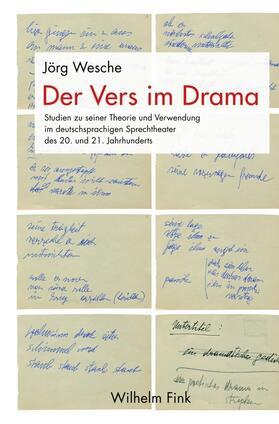 Der Vers im Drama