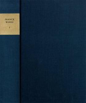 Sebastian Franck: Sämtliche Werke / Texte. Band 5: Paradoxa