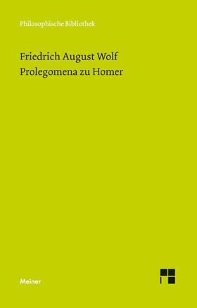 Prolegomena zu Homer