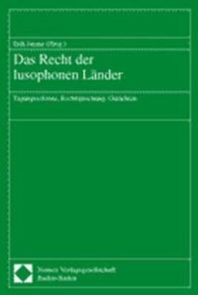 Das Recht der lusophonen Länder
