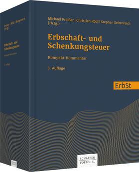 Preißer/Rödl/Seltenreich | Erbschaft- und Schenkungsteuer | Buch