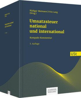 Umsatzsteuer - national und international