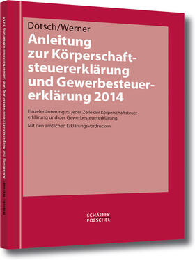 Anleitung zur Körperschaftsteuererklärung und Gewerbesteuererklärung 2014