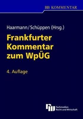 Frankfurter Kommentar zum WpÜG (Wertpapiererwerbs- und Übernahmegesetz)