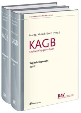 Moritz / Klebeck / Jesch | Frankfurter Kommentar zum Kapitalanlagerecht, Band 1 | Buch