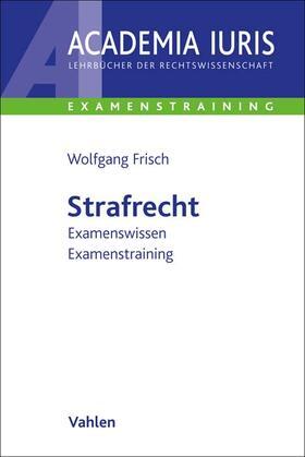 Frisch | Strafrecht | Buch