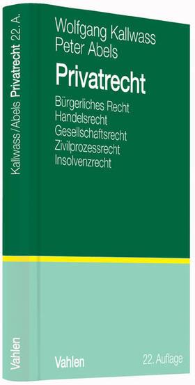 Kallwass/Abels   Privatrecht   Buch