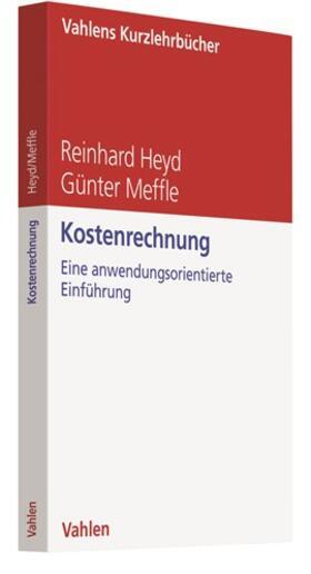 Heyd / Meffle | Kostenrechnung | Buch