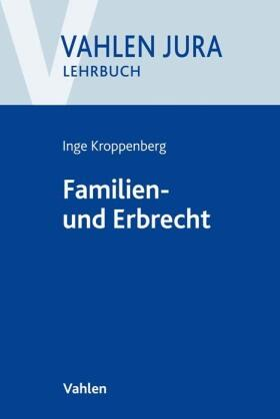 Kroppenberg   Familien- und Erbrecht   Buch