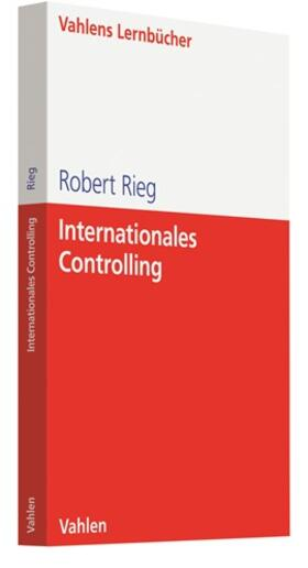 Rieg | Internationales Controlling | Buch
