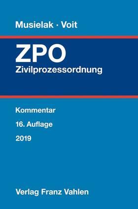 Zivilprozessordnung: ZPO