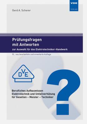 Prüfungsfragen mit Antworten zur Auswahl für das Elektrotechniker-Handwerk