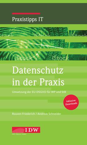 Friederich / Schneider | Datenschutz in der Praxis | Buch